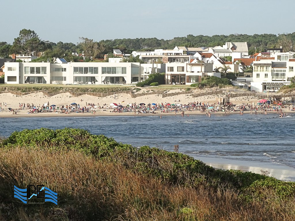 View of the beach at the Desembocadura