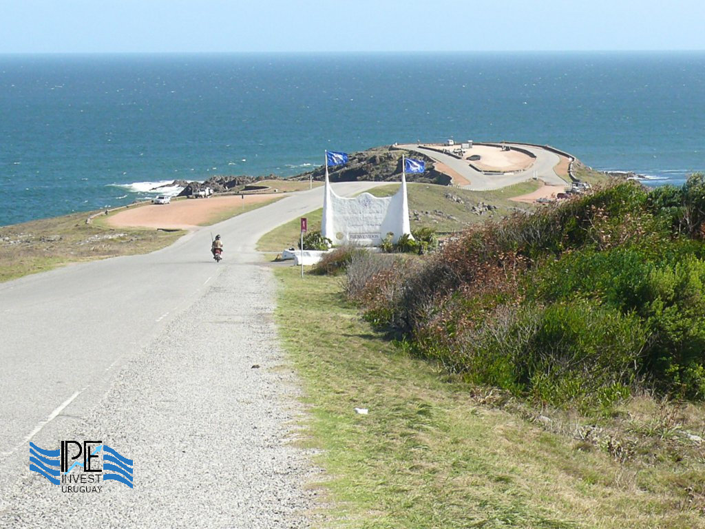 The viewpoint of Punta Ballena