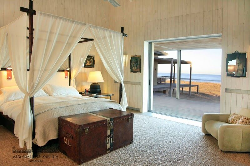 Master suite with direct access to the beach and ocean view