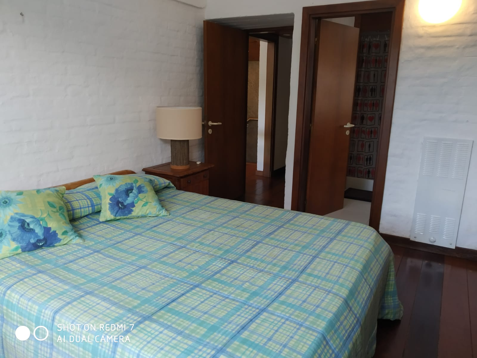 Second suite, with a large double bed